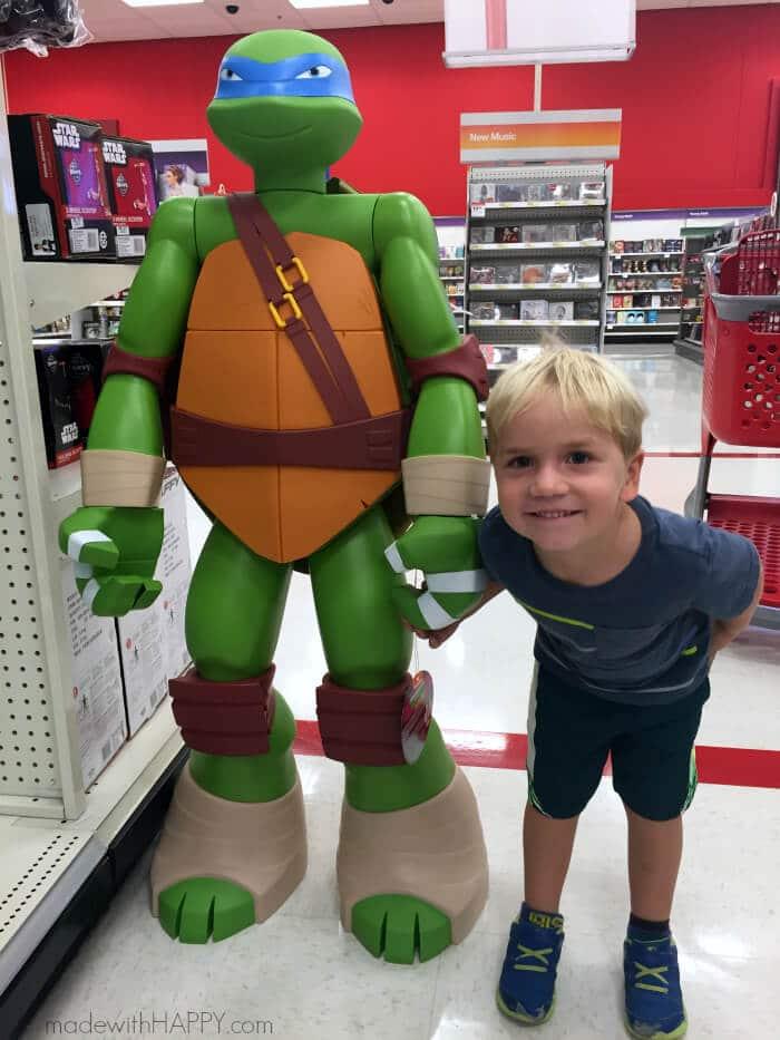 Teenage Mutant Ninja Turtle Party Ideas | TMNT Party Ideas | TMNT Shells | Pool Noodle Nunchucks | Ninja Turtle Cookies | www.madewithhappy.com