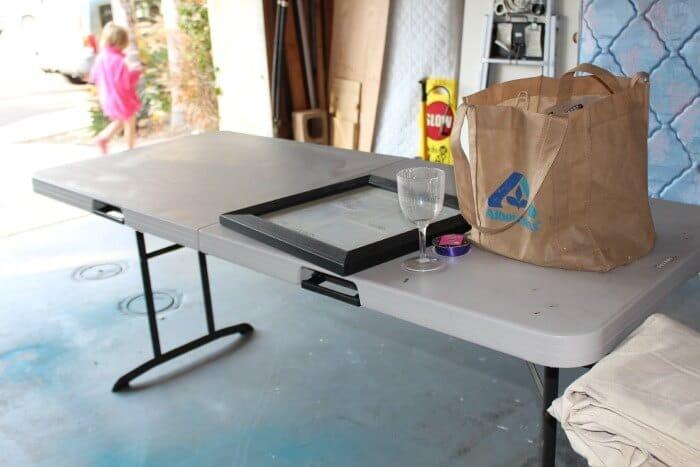 Tool Bench Organization   Getting your Garage Organized   Garage Peg Board   www.madewithHAPPY.com