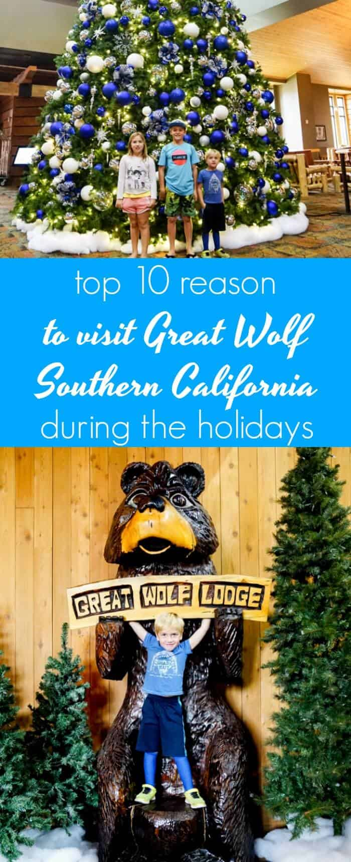 Visit The Great Wolf Lodge Southern California During the Holidays