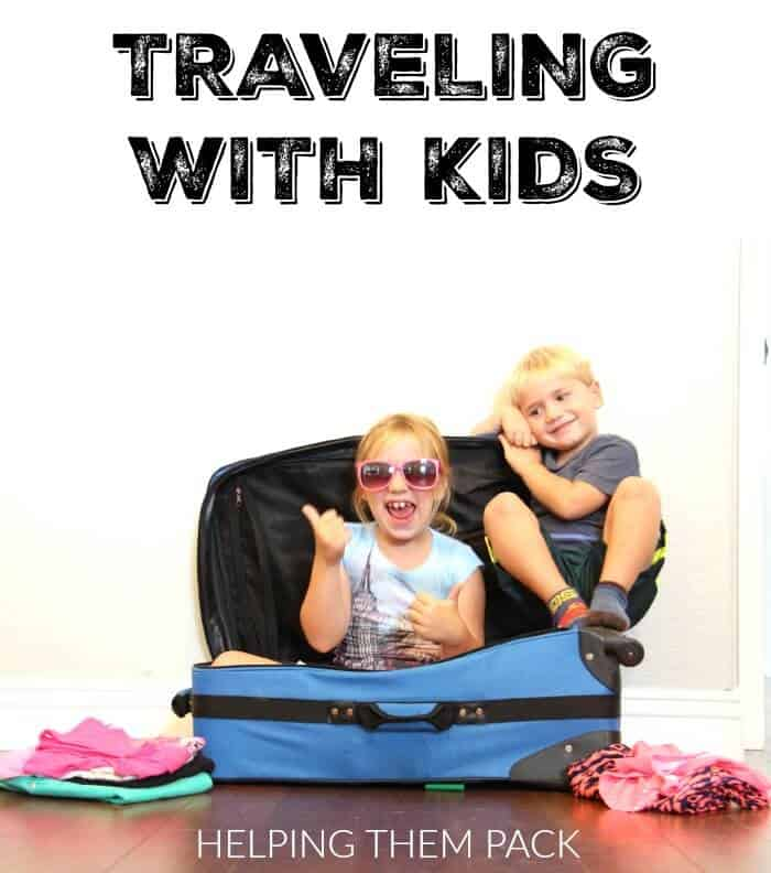 Traveling with Kids - Helping them Pack   www.madewithHAPPY.com   #GoldfishTales AD