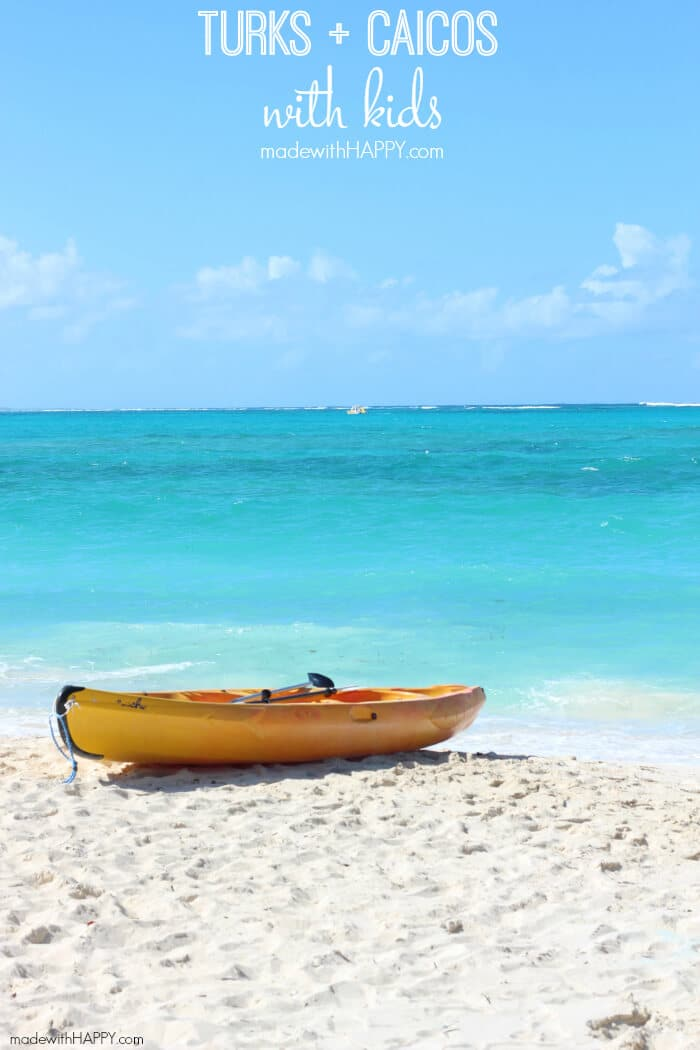 Turks and Caicos Island as a Family | Visiting the Caribbean with kids | Turks and Caicos with Kids | Family Travel to the Caribbean | www.madewithHAPPY.com