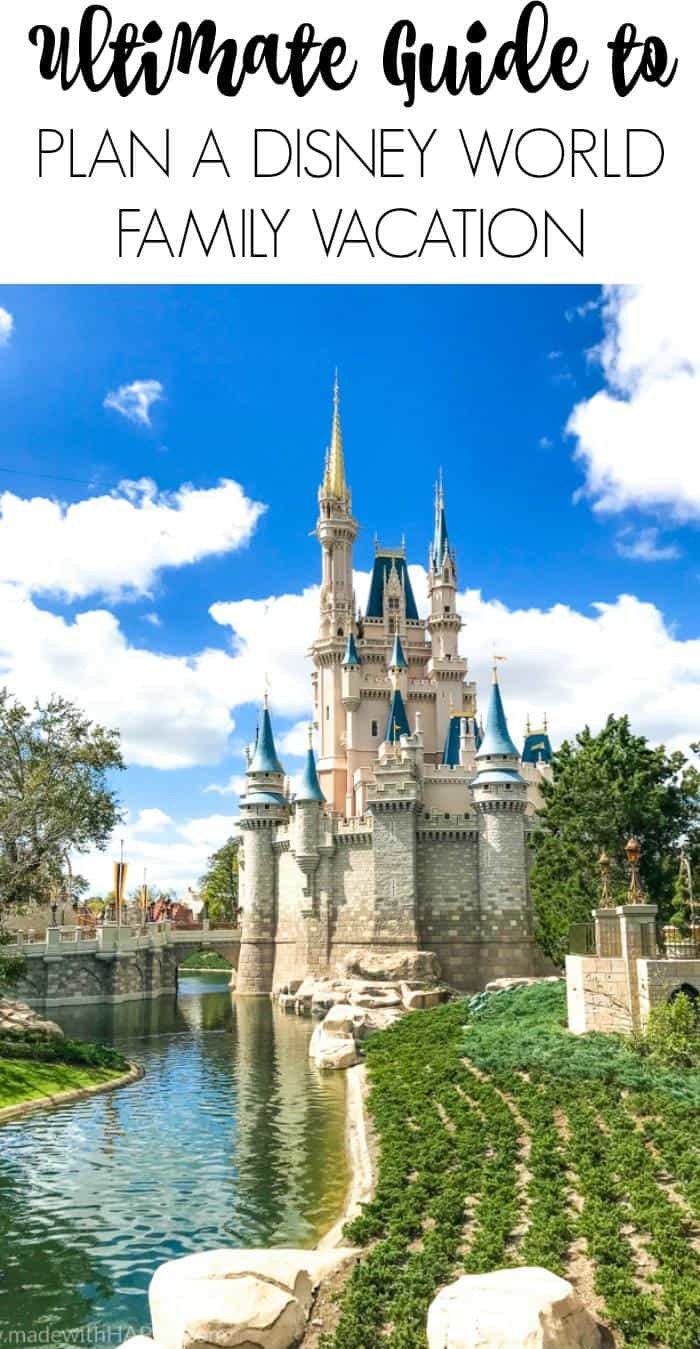 Ultimate guide to plan a disney world vacation. Tips and tricks to planning a family vacation to disney world. Disney world parks, hotels, flights and so much more!