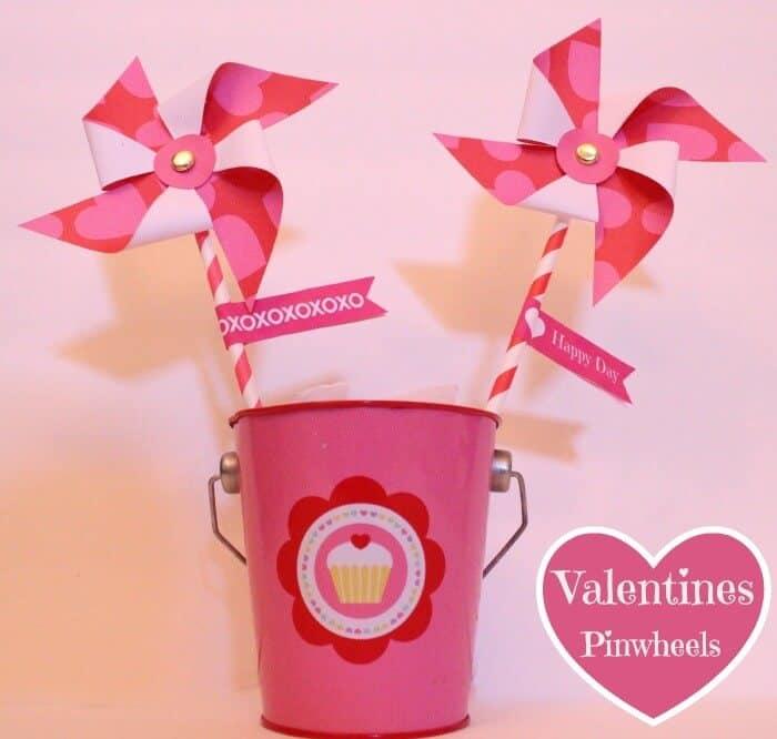 Valentines Pinwheel