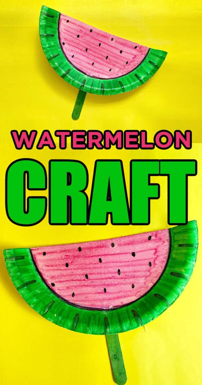 watermelon crafts for children
