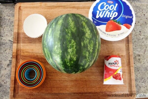 watermelon-muffin-supplies