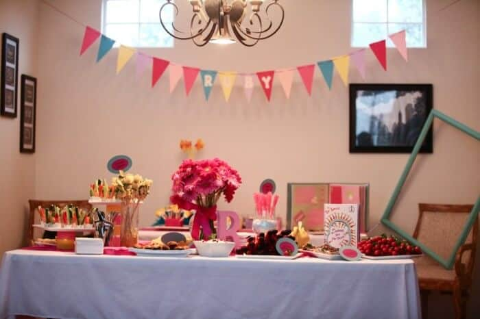 Oh, the places you'll go baby shower