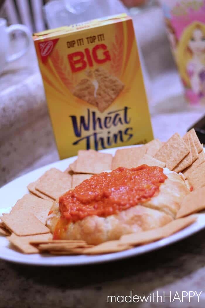 wheat-thin-brie-bake