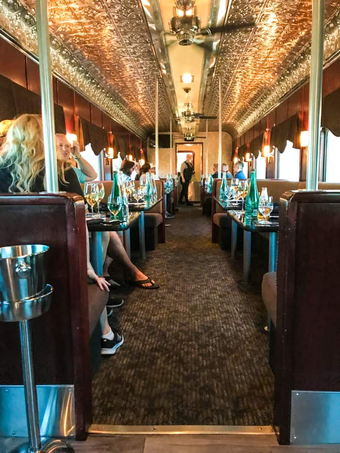 What to expect on the napa valley wine train. Delicious food, wine tasting, or seeing the sights of the Napa country side, the Napa Valley Wine Train is a great way to incorporate them all.