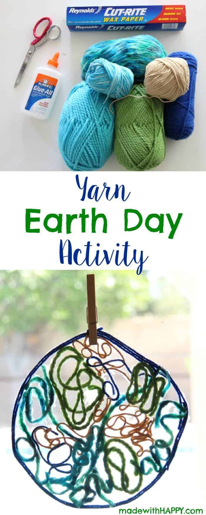 yarn-earth-day-activity